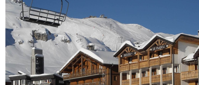 Chairlift exterior